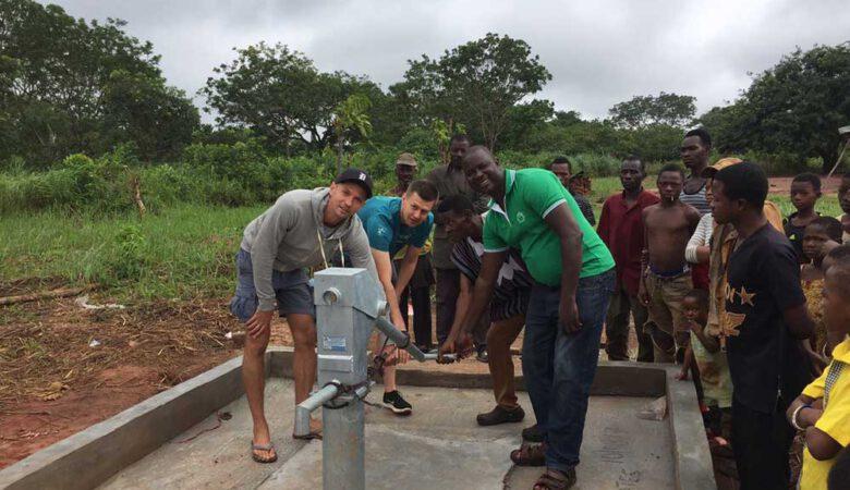 Zugang zu Bildung durch Zugang zu Wasser ist unsere Antwort